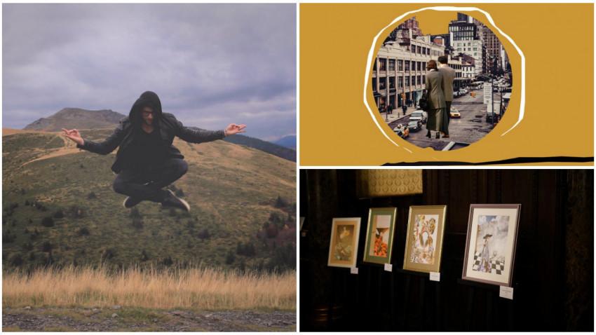 Andrei Stan si Collage Festival: Incepe o miscare coerenta si perceptibila a artistilor de colaje in Romania