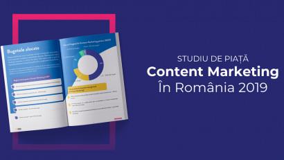 Perspectiva business-urilor românești asupra creării și promovării de conținut- Primul studiu de piață despre content marketing