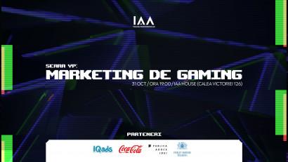 Are you ready for the next level? Vino la Seara YP dedicată Marketingului de Gaming pentru a afla care e legatura dintre marketing și industria de gaming