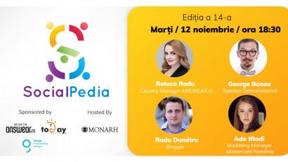 SocialPedia 14:Cu 3 zile înainte de Black Friday 2019, aflăm totul despre social media în e-Commerce