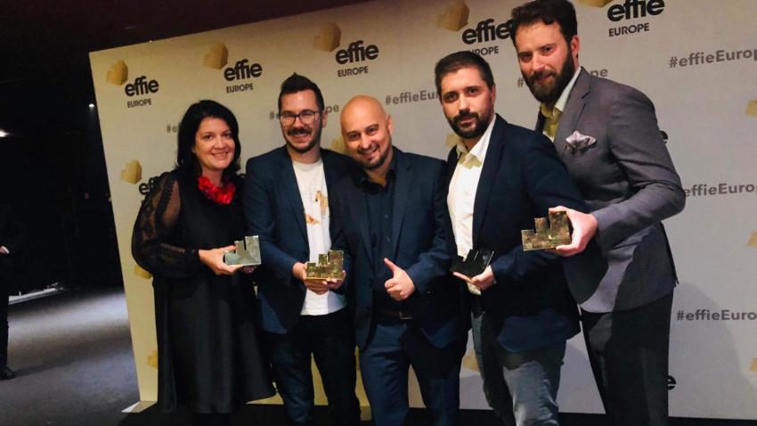 Leo Burnett și Telekom Romania câștigă două trofee laEffie Awards Europe 2019