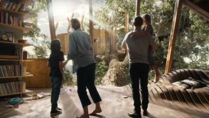 Copacul vietii include terasa si camera de joaca pentru copii