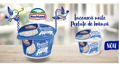 """Studiu: Ce fac românii în pauzele scurte din timpul zilei? Hochland lansează """"Perluțe de brânză"""", o gustare sănătoasă și ușoară, pentru pauzele din fiecare zi"""