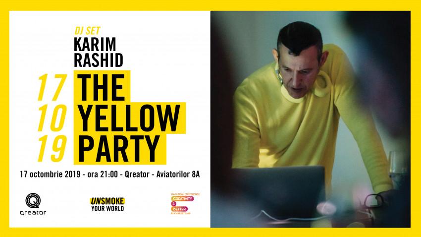 """Karim Rashid pune muzică la party-ul Conferinței Globale """"Creativity4Better"""" - toți participanții invitați"""