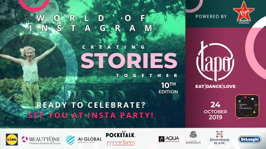 """World of Instagram 10 -""""Creating Stories Together"""""""