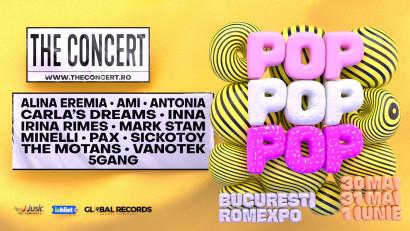Vara 2020 începe cu THE CONCERT - cel mai mare concert din România! 3 zile de concerte și distracție la Romexpo