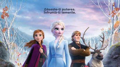 Frozen II înregistrează cifre record în primul weekend în România