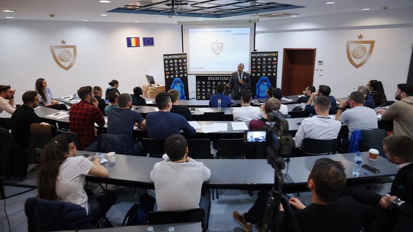 Academia de Studii Economice din București și Sports Business Academy construiesc prin educație bazele industriei sportive în România