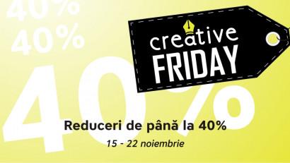 Creative Friday: începe campania de reduceri pentru trainingurile de comunicare
