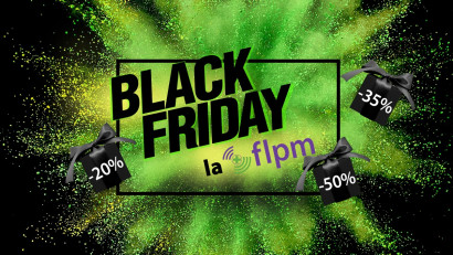 FLPM - Primul #blackfriday alaturi de agentia H2RO Genuine Communication Agency