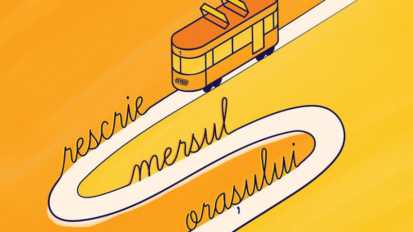 """Tramvaiul Poeziei oprește la Târgul de Carte Gaudeamus. Cum arată poemul scris de cei 10 finaliști ai concursului """"Salvează poezia orașului"""""""
