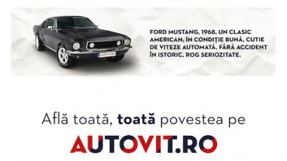 Autovit.ro - Toata, toata povestea. Mustang