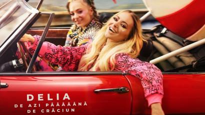 """Global Records și Lidl - campanie de Crăciun pentru brandul de dulciuri Favorina. Delia și sora ei, Oana, colindă original """"De azi pâââână de Crăciun"""""""