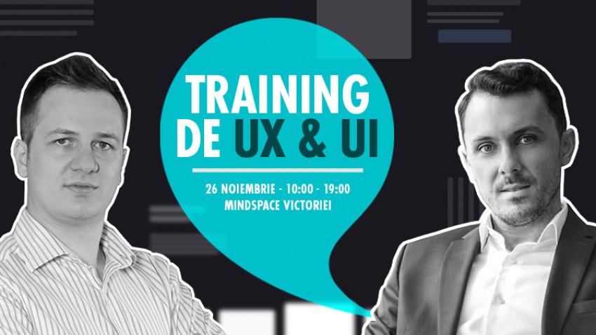 Training de UX și UI pentru marketerii care creează website-uri și aplicații de brand