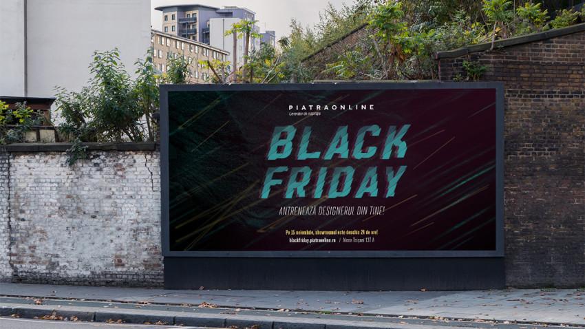 PIATRAONLINE și Marks te invită să antrenezi designerul din tine de Black Friday