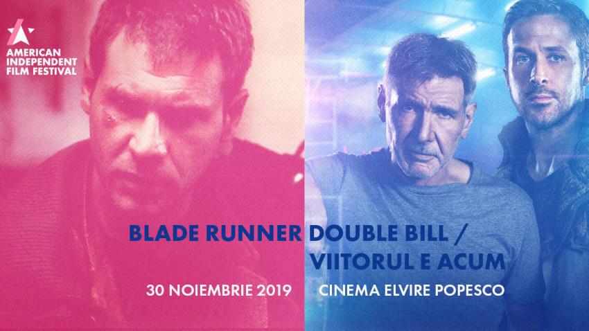 Maraton Blade Runner organizat de American Independent Film Festival și Cinema Elvire Popesco, pe 30 noiembrie