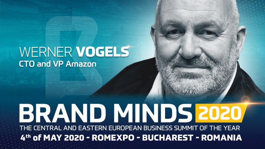 BRAND MINDS brings the VP & CTO of Amazon to Romania!