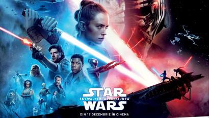 """Forța fie cu tine: câștigă o excursie la premiera europeană """"Star Wars: The Rise of Skywalker"""" de la Londra"""