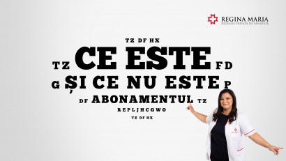 """Rețeaua de sănătate REGINA MARIA lansează serialul tutorial """"Ce este și ce nu este abonamentul"""""""