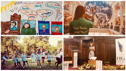 [Povești de bine] Larisa Popescu: Creativitatea se dezvoltă ușor la copii prin educație non-formală