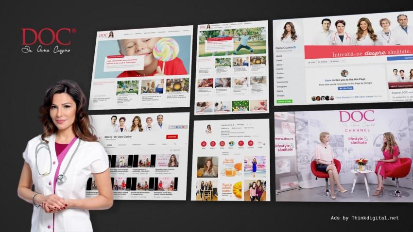 Comunitatea si platforma online DOC.ro se deschid către clienții de publicitate prin Thinkdigital
