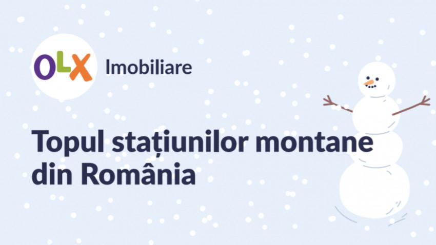 Topul stațiunilor montane din România. Care sunt stațiunile preferate ale românilor pentru concediul de iarnă