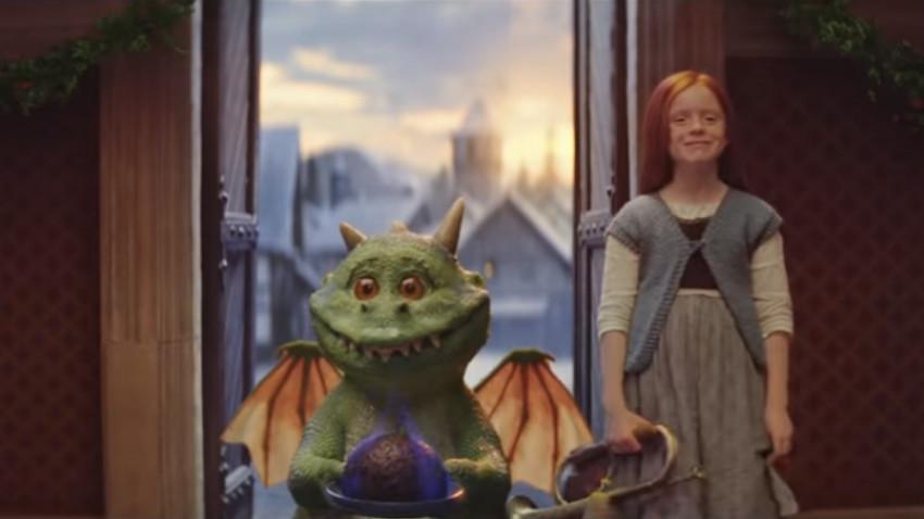 Dragonul care le arată cât de mult îi pasă