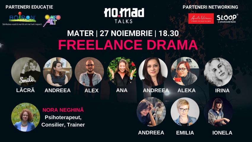 NO.MAD Talks lansează Freelance Drama, primul ebook din România despre dramele freelancerilor