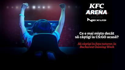 KFC investește în comunitatea de gaming din România și își anunță participarea la cea de-a treia ediție a Bucharest Gaming Week