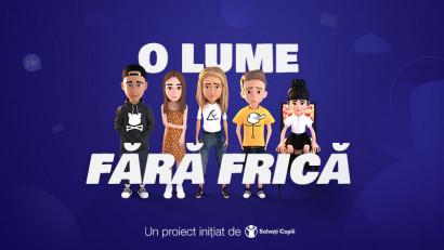 """""""O lume fără frică"""" o campanie anti-cyberbullying creată de Kubis și Salvați Copiii"""