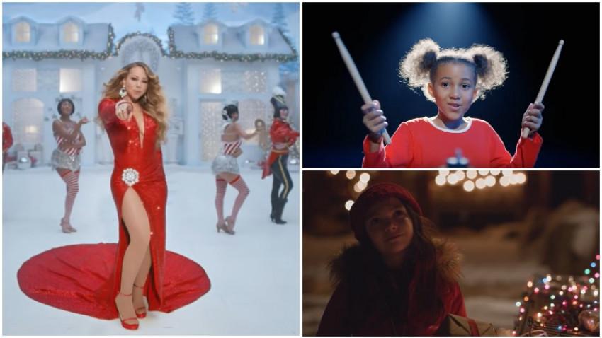 Primele spoturi de Crăciun. Mariah Carey & drăgălășenii de toate felurile