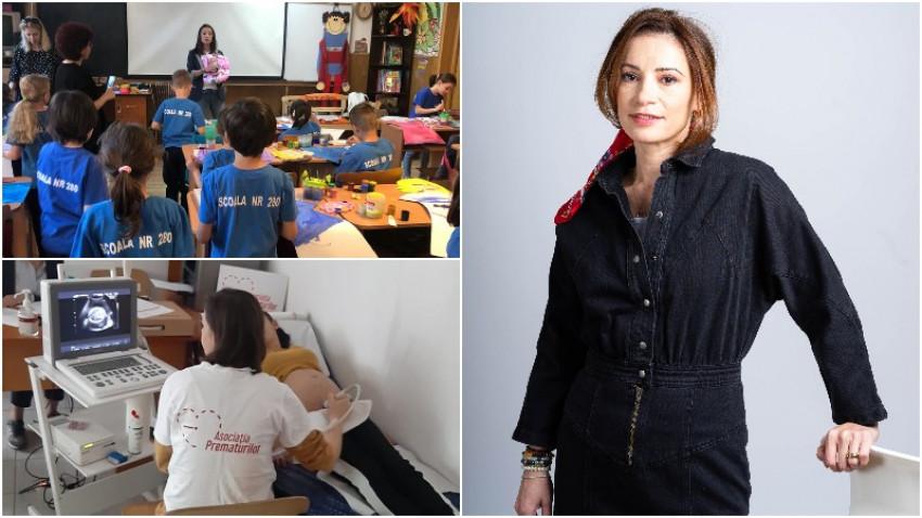 "[Povesti de bine] Diana Gamulescu: Am ajuns sa dezvoltam o ""fabrica de bine"" pentru bebelusii vulnerabili"