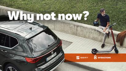 SEAT Tarraco și INTERACTIONS susțin mobilitatea urbană