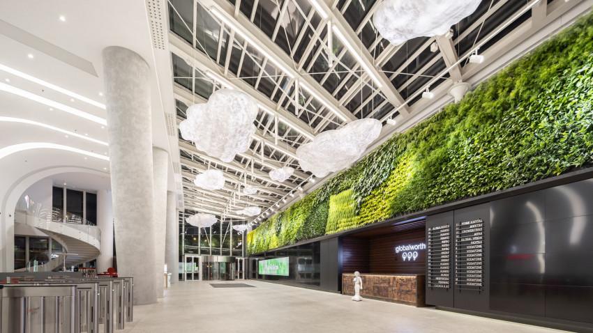 Premieră mondială:Globalworth inaugurează cea mai mare podea cinetică din lume într-o clădire de birouri