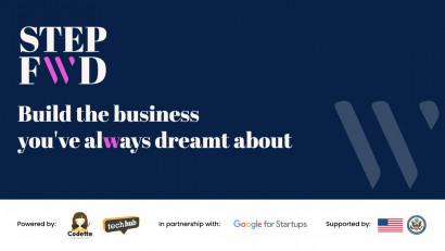 Programul StepFWD, primul program de pre-accelerare pentru startup-uri cu echipe diverse din România, a ajuns la final