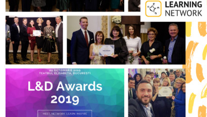 TOP 3 traineri, coachi și companii furnizoare de training conform L&D Survey 2019, realizat de Learning Network