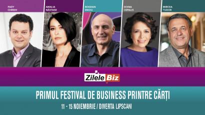 Zilele Biz & Serile Diverta. Primul festival de business printre cărți