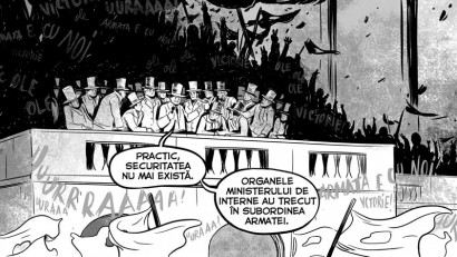 Revoluția din '89 interpretată în benzi desenate