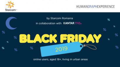 7 din 10 dintre românii utilizatori de internet sunt mulțumiți de evenimentul Black Friday 2019