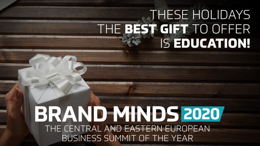 BRAND MINDS - These holidays offer the gift of EDUCATION!