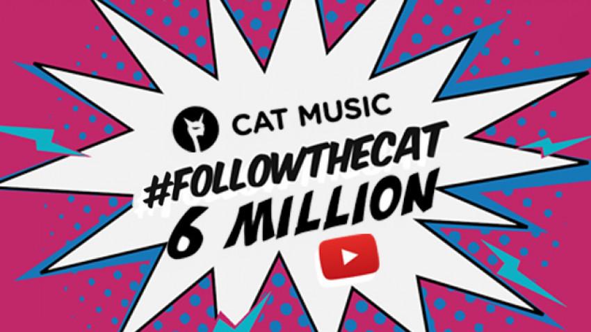 BOOM! Cat Music stabileste o noua performanta pentru industria muzicala locala: 6 milioane de abonati pe YouTube