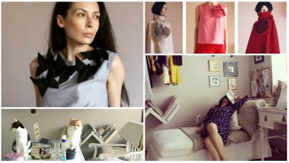 Ar fi trebuit să fie profesoară de japoneză, dar s-a făcut designer antreprenor. Ioana Taranu despre haine vii și pisici