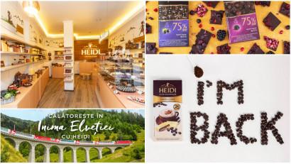 25 de ani de Heidi. Copilăria are gust de ciocolată, curaj și aventură