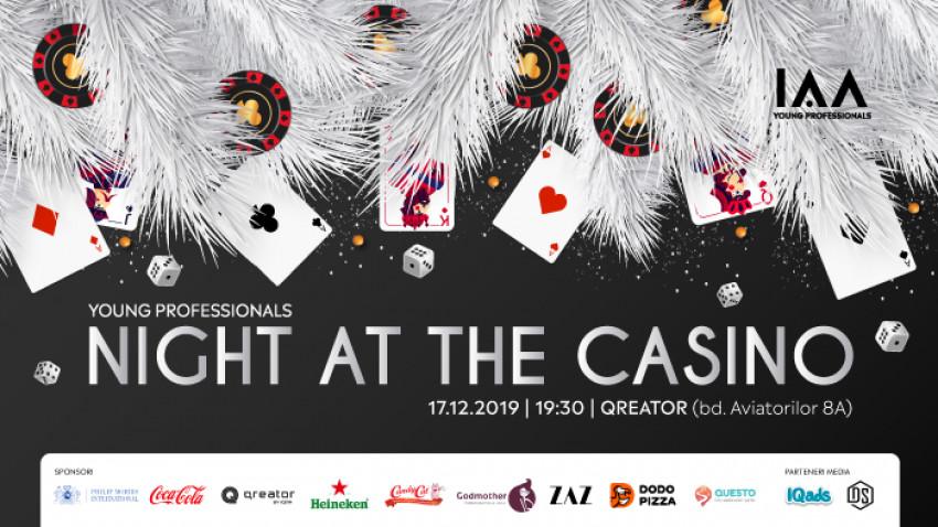 Are you feeling lucky? Atunci vino să închei anul la petrecerea IAA Young Professionals Night at the Casino!