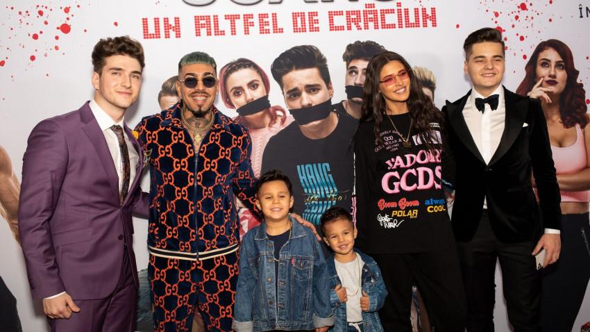 """În prag de sărbători, premiera filmului """"5GANG: Un altfel de Crăciun"""" a adus zâmbete pe fețele a sute de copii, la Grand Cinema Băneasa"""