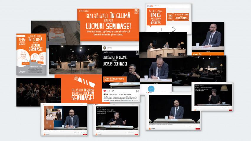 Rusu+Borțun Cyber Growers amplifică promovarea platformei digitale ING Business