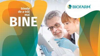 Biofarm se pregătește de aniversarea a 100 de ani cu o nouă identitate de brand: BINELE DE A TRĂI MAI BINE
