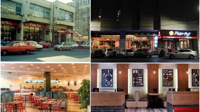 Pizza Hut aniversează 25 de ani de la deschiderea primului restaurant din România