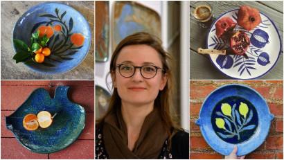 [Noii artizani] Natura e sursă de inspirație infinită pentru ceramica Irinei Silivestru