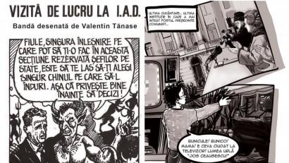 Revoluția din 1989 revăzută în benzi desenate